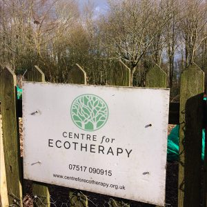 sign for eco therapy centre