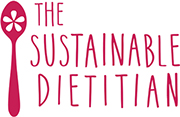 Logo for the Sustainable Dietitian
